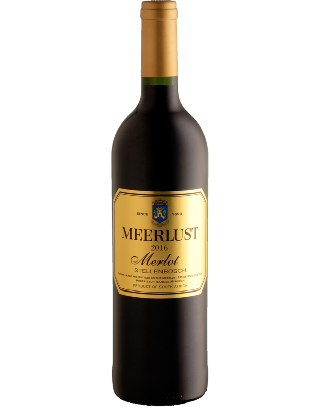 Meerlust Merlot 2016